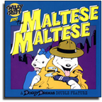 Doggy Dramas_Comic Book_Private Eye_Maltese Falcon_Parody