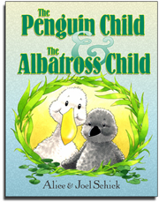 Penguin Child and Albatross Child_Cover_Alice Schick_Joel Schick