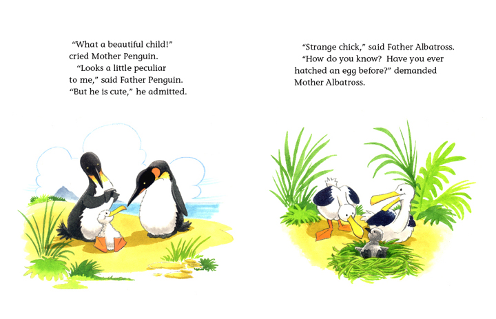 Read-Aloud Book_The Penguin Child and the Albatross Child_Admiring babies_4