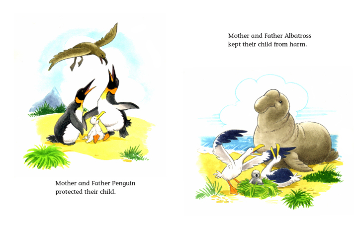 Read-Aloud Book_The Penguin Child and the Albatross Child_Protecting babies_4