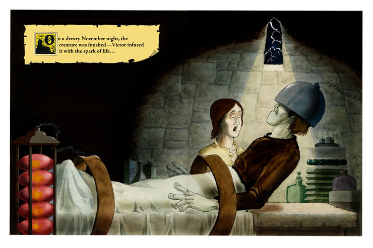 Mary Shelley_Frankenstein_Alice and Joel Schick